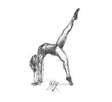 Gymnast # 1 by Jodi Franzke
