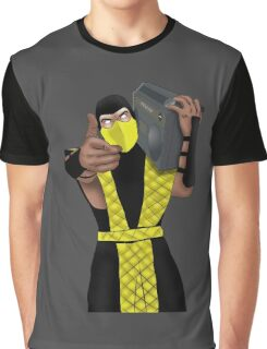 GET OVER HERE AND LISTEN TO THESE DOPE BEATS Graphic T-Shirt