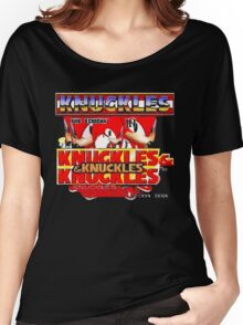 Knuckles the Echidna in Kuckles & Knuckles & Knuckles Women's Relaxed Fit T-Shirt