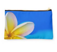 Floating Plumeria Petals Pillow & Clutch Studio Pouch