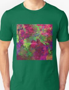 Fusion In Pink And Green T-Shirt