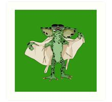 Gremlin Flasher Art Print