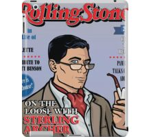 Sterling Archer is a Rolling Stone iPad Case/Skin