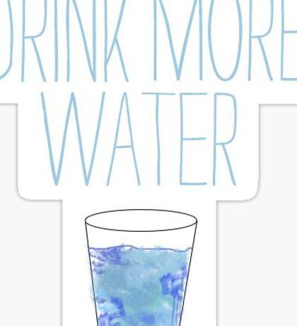 Water water water Sticker