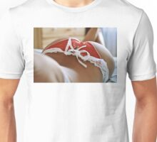 sexy nude erotic glamour girl model 4 Unisex T-Shirt