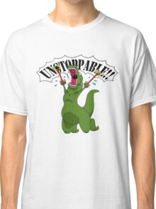 T-Rex With Robot Clamp Toy Classic T-Shirt