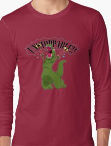 T-Rex With Robot Clamp Toy Long Sleeve T-Shirt