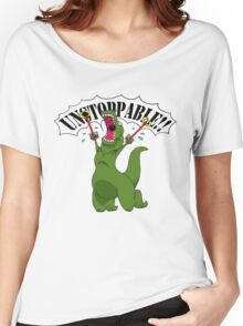 T-Rex With Robot Clamp Toy Women's Relaxed Fit T-Shirt