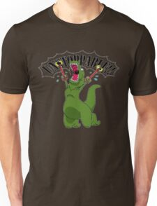 T-Rex With Robot Clamp Toy Unisex T-Shirt