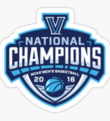 Villanova- 2016 National Champions! Sticker