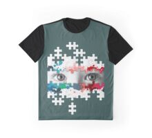 Eyes puzzle color Graphic T-Shirt