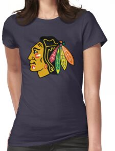Top Selling Chicago Blackhawks Womens Fitted T-Shirt
