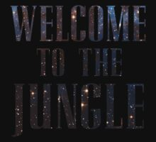 Welcome to the Jungle (galaxy) Kids Tee