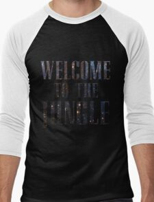 Welcome to the Jungle (galaxy) Men's Baseball ¾ T-Shirt