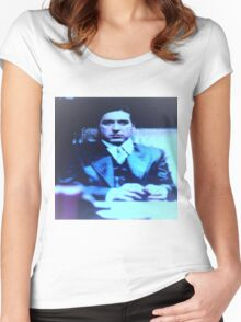 The Mob Boss At Work Women's Fitted Scoop T-Shirt