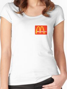 McDiabetes Women's Fitted Scoop T-Shirt