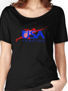 Team USA - Fencing Women's Relaxed Fit T-Shirt