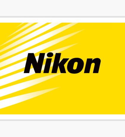 nikon logo 2017 Sticker