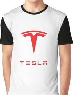 tesla logo tour 2016 Graphic T-Shirt