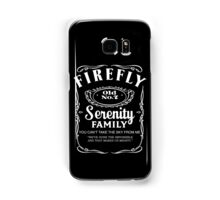 Firefly Whiskey Samsung Galaxy Case/Skin