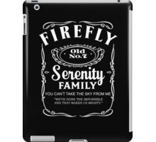 Firefly Whiskey iPad Case/Skin