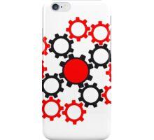 arrangement rotate gears machine mechanical clockwork cool star iPhone Case/Skin