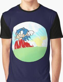 Sonic The Hedgehog Graphic T-Shirt