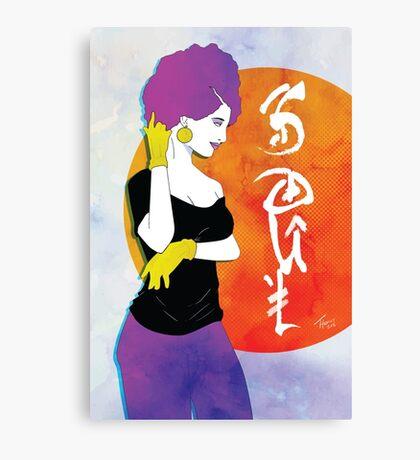 Retro Style Soul Canvas Print