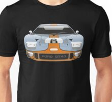 Ford GT 40 Gulf Racing livery Unisex T-Shirt