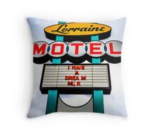 Lorraine Motel Throw Pillow