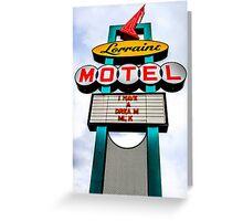 Lorraine Motel Greeting Card