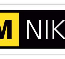 i am nikon logo 2016 Sticker