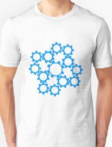 arrangement rotate gears machine mechanical clockwork cool star Unisex T-Shirt