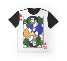 Nathan Drake Face Card Graphic T-Shirt