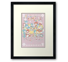 Fire Emblem Tea Party BOY VERSION Framed Print