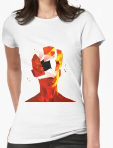 SUPERHOT Womens Fitted T-Shirt