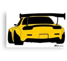 RX7 Canvas Print