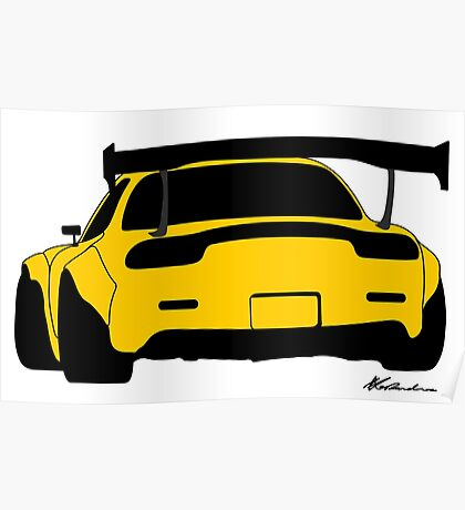 RX7 Poster