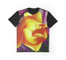 Surreal Rose Graphic T-Shirt