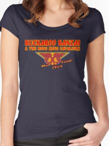 Buckaroo Banzai, World Tour Women's Fitted Scoop T-Shirt