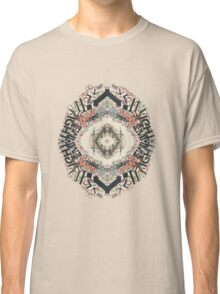 Radial Typography  Classic T-Shirt