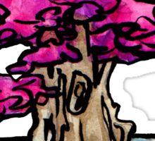 blossom bonsai Sticker