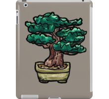shrub bonsai iPad Case/Skin