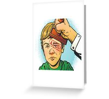Kid Gets Stamped With ADHD Greeting Card