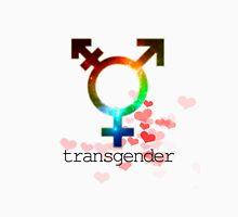 Transgender pride flag, gay love, lesbian love Unisex T-Shirt