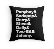 The Outsiders&  Throw Pillow