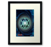 The Seal of Orichalcos  Framed Print
