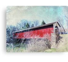 Crossing the past with the present Canvas Print