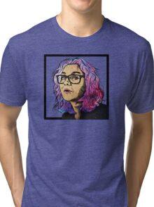 Maggie's portrait Tri-blend T-Shirt