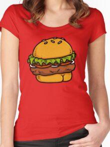 Burger BUTT! Women's Fitted Scoop T-Shirt